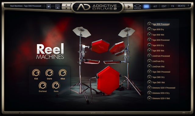 addictive drums 2 test review testy instrument w klawiszowych. Black Bedroom Furniture Sets. Home Design Ideas